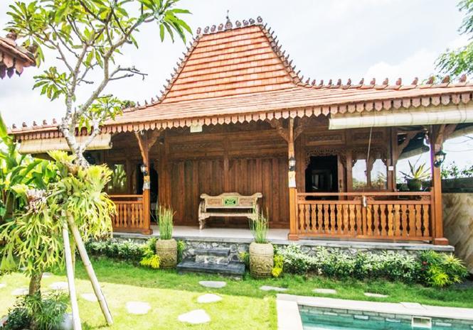 Jual Rumah kayu knock Down Jawa Timur