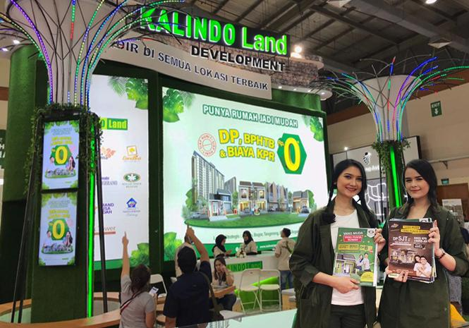 Green, Smart and Secure ala Kalindo Land di BTN Property Expo 2019